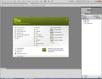 Descargar manual de Dreamweaver CS3 DreamWeaver